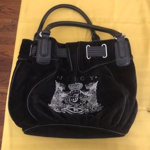 Juicy Couture Black Scotty Dog Bag🖤